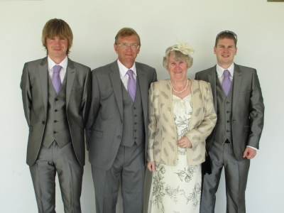 Mum, Dad, Craig and myself