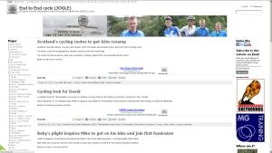 End to End cycle (JOGLE) End to End cycle (JOGLE) website