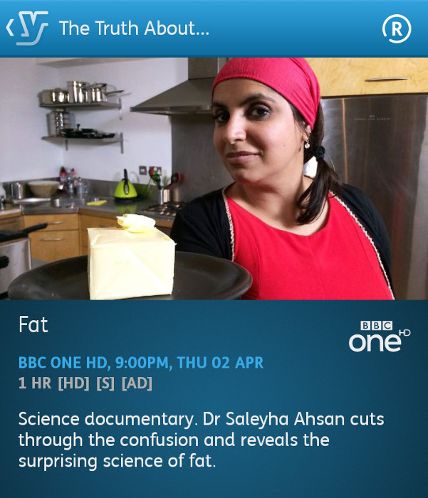 The Truth About Fat (YouView app)