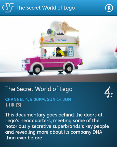The secret world of lego youtube train