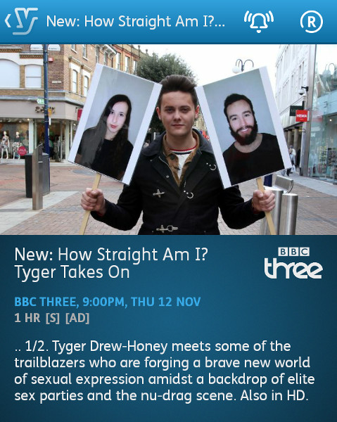 Tyger Takes On - 12-11-2015 - YouView app