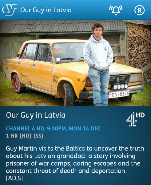 Our Guy in Latvia- 06-14-2015 - YouView app