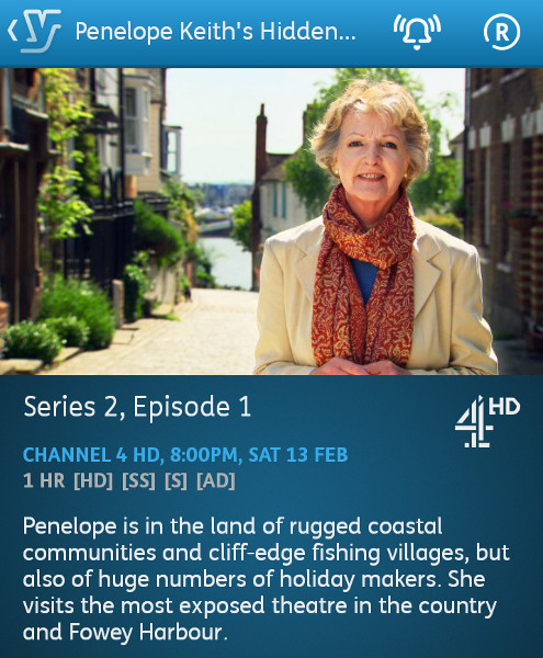 Penelope Keith's Hidden Villages - 08-02-2016 - YouView app