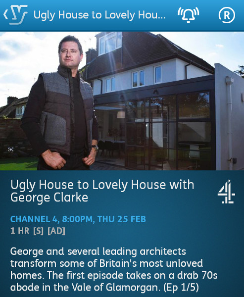 Ugly House to Lovely House with George Clarke - 25-02-2016 - YouView app