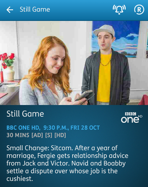 Still Game - 28-10-2016 - YouView app