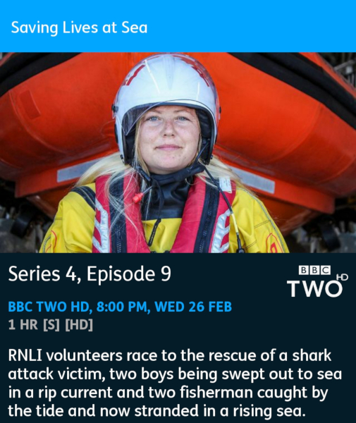 Saving Lives at Sea - 26-02-2020 - YouView app