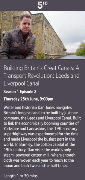 Building Britain's Canals - 25/06/2020 BT TV app