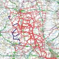 Place's I have cycled to from Little Bytham (updated 04/05/2012)