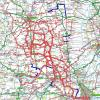 Place's I have cycled to from Little Bytham (updated 09/08/2011)