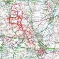 Place's I have cycled to from Little Bytham (updated 16/08/2010)
