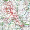 Place's I have cycled to from Little Bytham (updated 20/09/2010)
