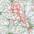 Place's I have cycled to from Little Bytham (updated 28/03/2011)