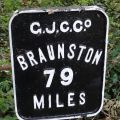 79 miles to Braunston