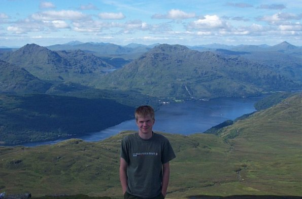Top of Ben Lomond
