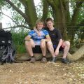 Mike and myself at Rutland Water