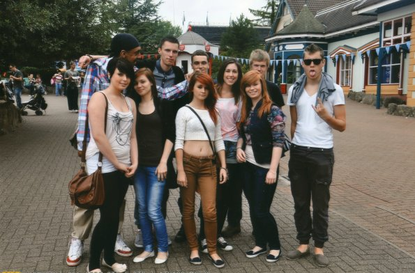 Alton Towers trip 2011