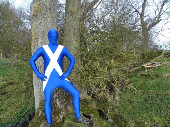 Scotland Flag Morphsuit