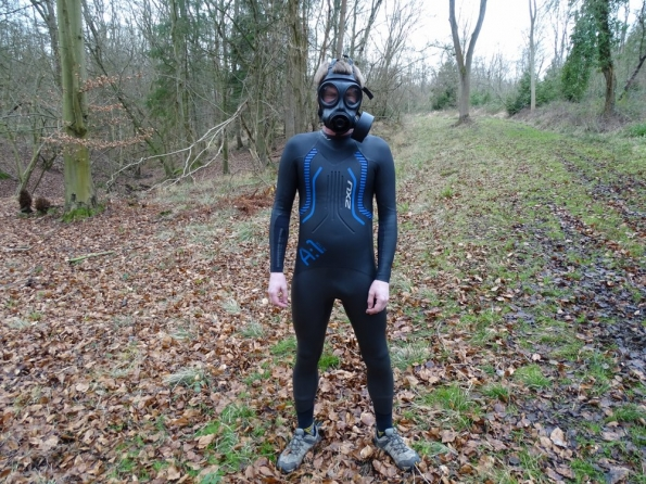2XU A:1 Active wetsuit + S10 gas mask