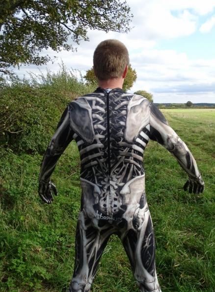 Skull & Bones Morphsuit