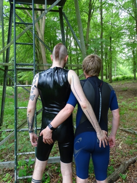 CutePlayToy and myself in gear