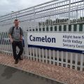 Myself at Camelon railway station