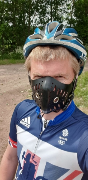 Regulation Rubber Bike Mask
