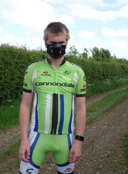 Regulation Rubber Bike Mask