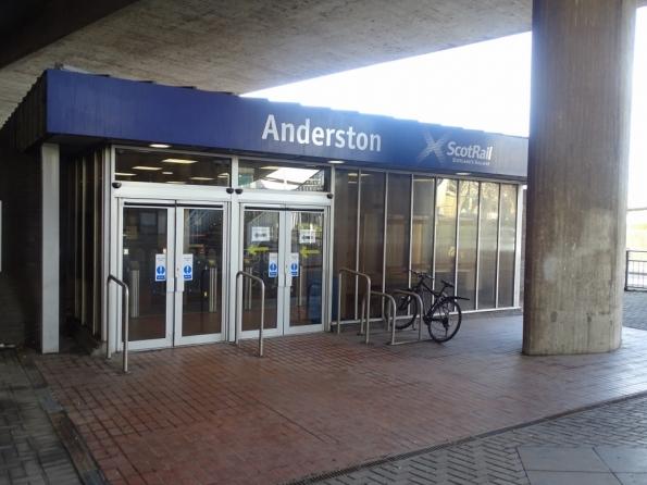 Anderston railway station