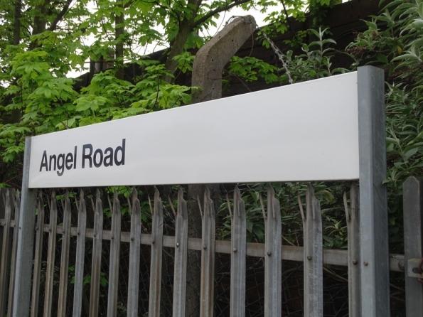 Angel Road railway station