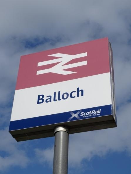 Balloch railway station