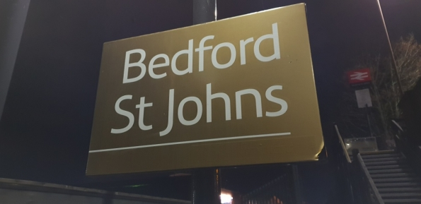 Bedford St Johns railway station