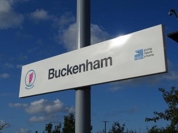 Buckenham railway station