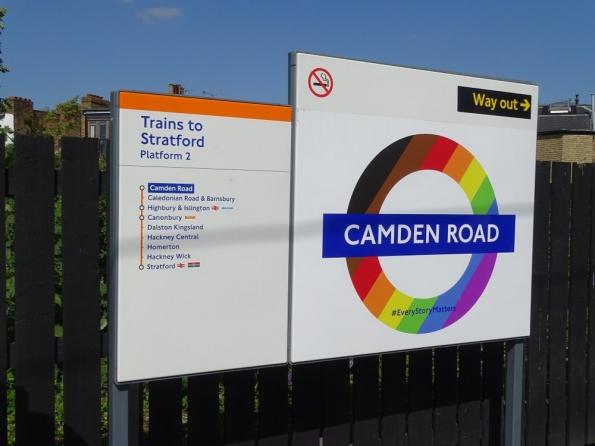 Camden Road railway station