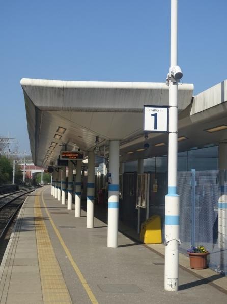 Corby railway station