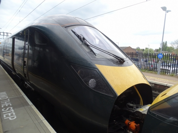 Class 800 at Didcot Parkway railway station