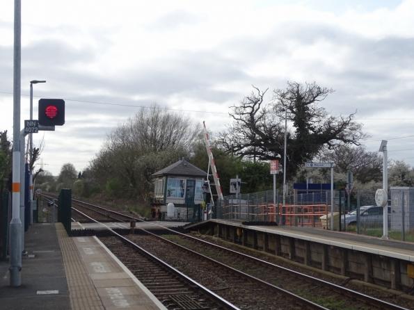 Fiskerton railway station