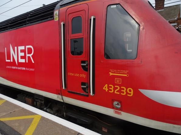 LNER Class 43 at Grantham railway station
