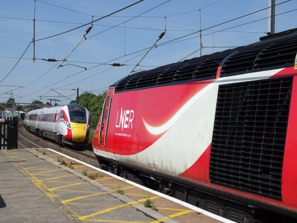 Old, meets new at Grantham railway station