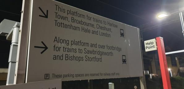 Harlow Mill railway station