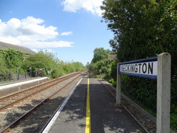 Heckington railway station