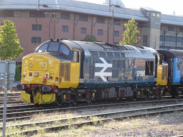 Class 37 at Norwich railway station