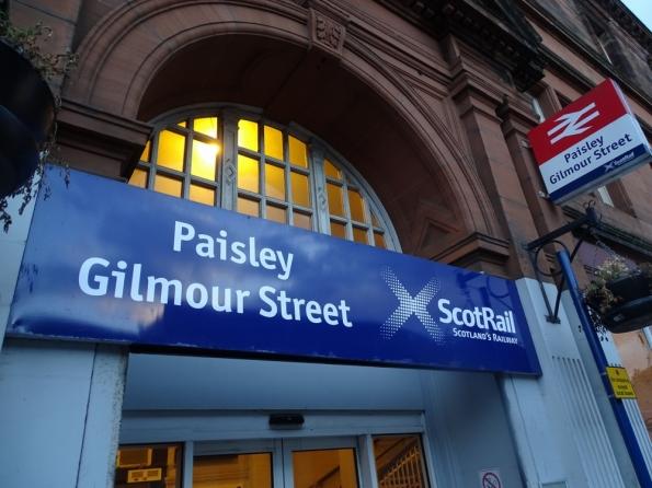 Paisley Gilmour Street railway station