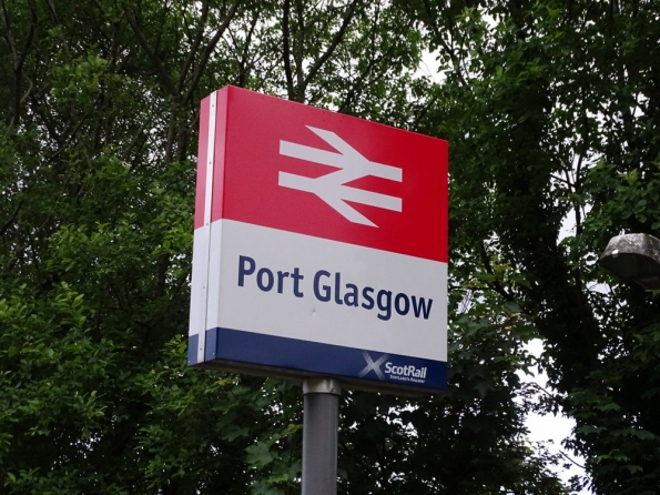 Port Glasgow railway station