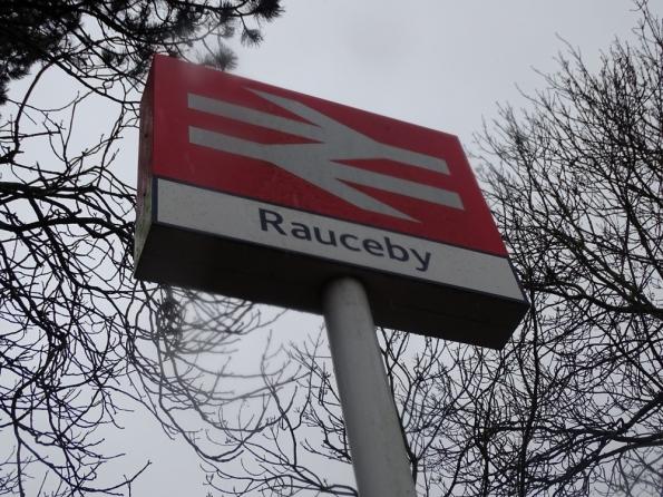 Rauceby railway station