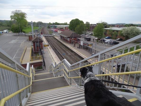 Cooper at Thatcham railway station