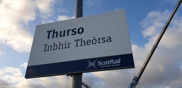 Thurso railway station