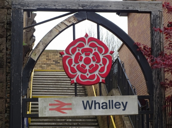 Whalley railway station