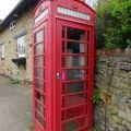 Red telephone box at Blisworth