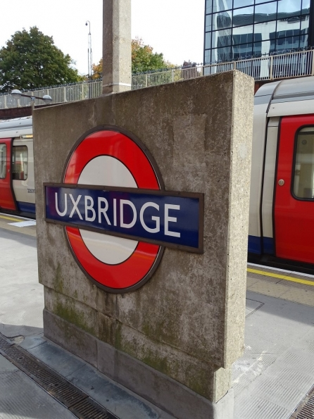 Uxbridge tube station